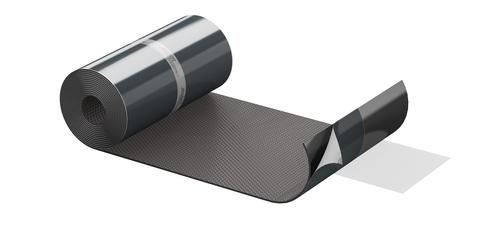 ALUJET Fixroll 3D 300 mm 5 m/Rolle Wand- und Kaminanschluss Braun