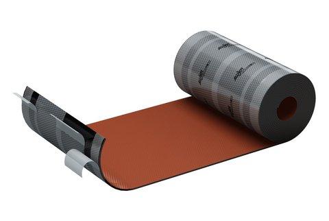 ALUJET Fixroll 4D 280 mm 5 m Wand- und Kaminanschluss Rot