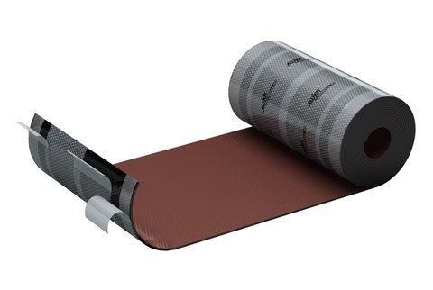 ALUJET Fixroll 4D 280 mm 5 m Wand- und Kaminanschluss Braun