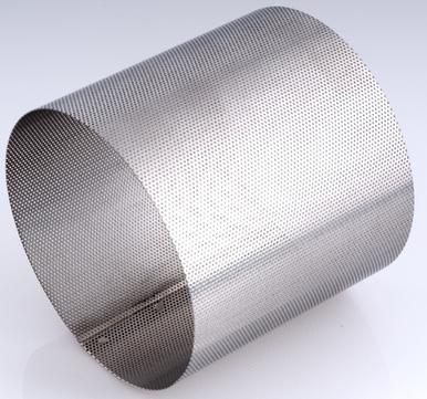 Nilfisk Filtersieb D143x140 mm 15475