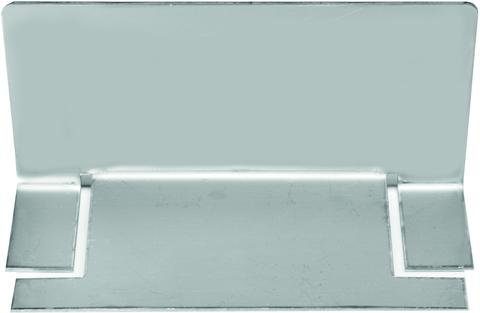 Reichlmeier Drain Endkappe 100 mm Breite 100 mm Edelstahl V2A