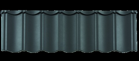 Braas Dachplatte Plus P 1324x410mm AeroDek Unique Seidengrafit