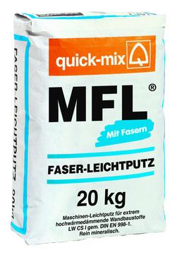 Quick-Mix Faser-Leichtputz MFL 20 kg