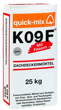 QUI Dachdeckermörtel K 09F 25kgGRAU