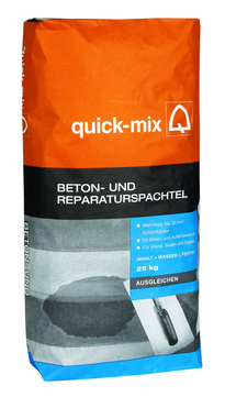 Quick-Mix Spachtelmasse BRS 25 kg Beton