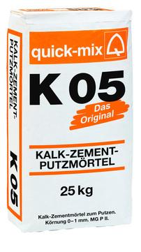 Quick-Mix Putzmörtel K05 25 kg 0-1 mm