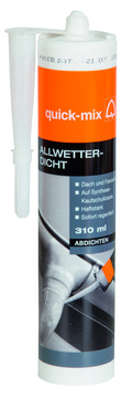 Quick-Mix Dichtstoff SK100 300 ml Transparent