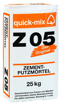 Quick-Mix Zementputzmörtel Z05 25 kg