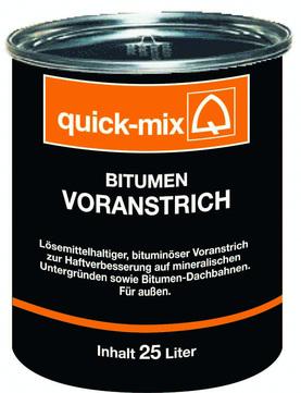 Quick-Mix Voranstrich Bitumen 10 l lösemittelhaltig