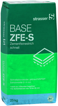 Quick-Mix Zementfeinestrich ZFE-S 25 kg 48 Sack je Palette