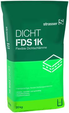 Quick-Mix Dichtschlämme flexibel FDS1K 20 kg Verbrauch 1,2 kg/m2 50Sa/Pal