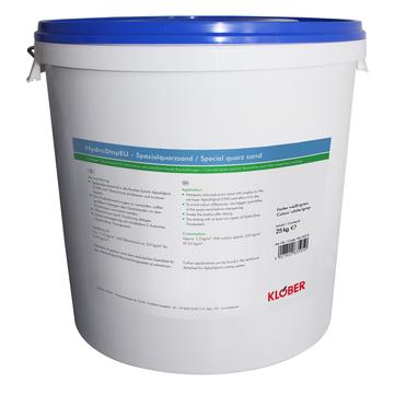 Klöber KA3078 Quarzsand 12,5 kg HydroStopEU Weißblau