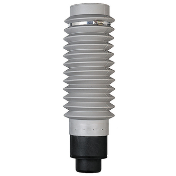 Klöber KE8042-1 Anschlussschlauch flexibel 100 Weich-PVC Länge 500 mm mit Adapter Grau
