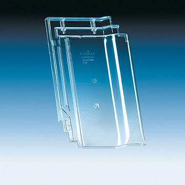 Klöber KL0056 Flachdachpfanne L15 Lichtpfanne