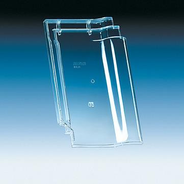 Klöber KL0218 Flachdachziegel N91 Lichtpfanne