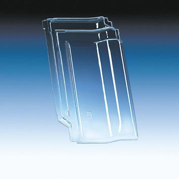 Klöber KL0338 Flachdachpfanne MZ3 Lichtpfanne