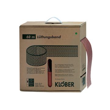 Klöber KP6100-1 Lüftungsband 100 mm 0450 gerollt 60 m Schwarz