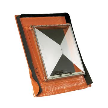 Klöber KT4001-4 Dachausstiegfenster universal 0430 Prismax ohne Lüftungsschleuse Anthrazit