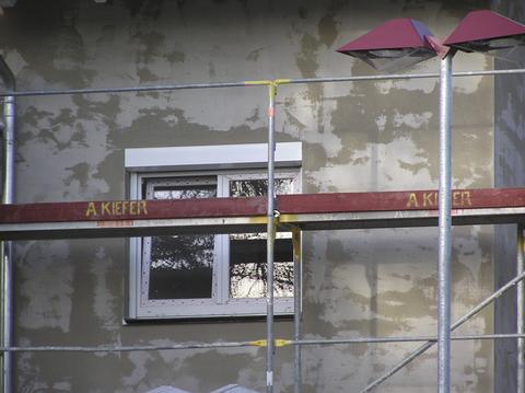 Knauf Gips UP210 Unterputz 30 kg Kalk-Zement-Unterputz Graubeige