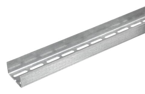 Knauf Gips UA-Profil 100/40/20/2750 mm 2 mm mit zweireihiger Lochung
