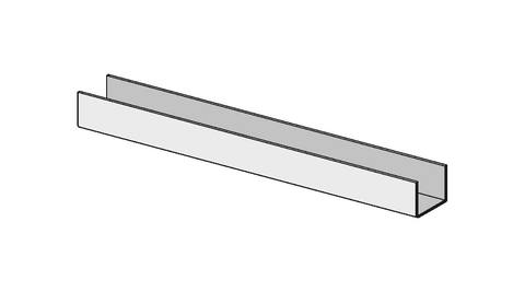 Knauf Gips UD-Profil 28/27/06 3000 mm