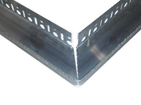 INTHERMO Inthermo Holzfaserdämmplatte Eckprofil 61 mm für Sockelschiene Länge 83,5 cm Alu