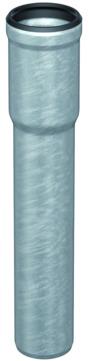 ACO Passavant Regenstandrohr GM-X DN 100 ohne Reinigungsdeckel Länge 1000 mm Verzinkt