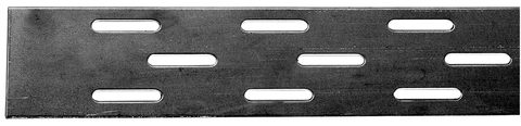 Palmer Lochstreifen 70x2,0 mm 2,5 m mit versetzen Langlöchern Verzinkt