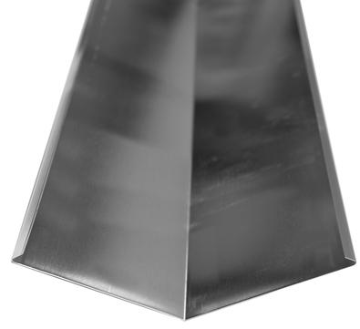 Palmer Kehlblech 400/0,70 mm 2 m Titanzink