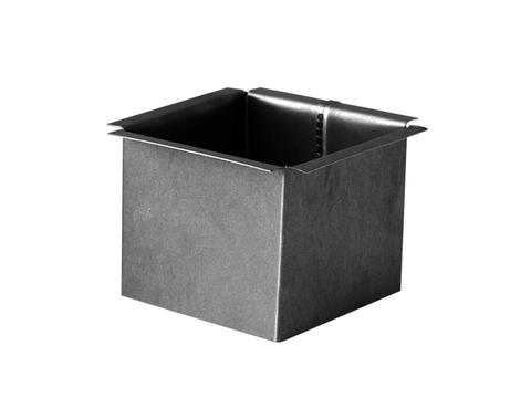 Palmer 6-teilige Lötstutzen Vierkant flach 100/100 mm Kupfer