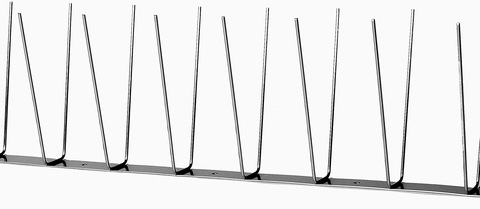 Palmer Taubenschutz Pixx Duo auf Stahlband Länge 1 m