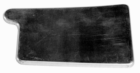 Palmer 4-teilige Rinnenboden Kasten links zum Löten Titanzink