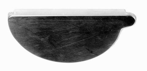Palmer 4-teilige Rinnenboden halbrund rechts zum Löten Titanzink