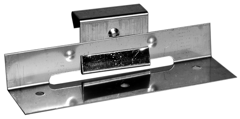 Palmer Schiebehaften Nr. 2 und Nr. 4 vormontiert Edelstahl V2A