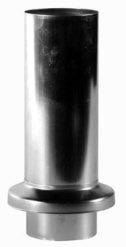 Palmer 6-teilige Schiebestück 100 mm Titanzink