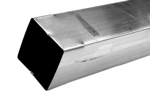 Palmer Vierkantrohre 80x 80 mm 2 m Kupfer