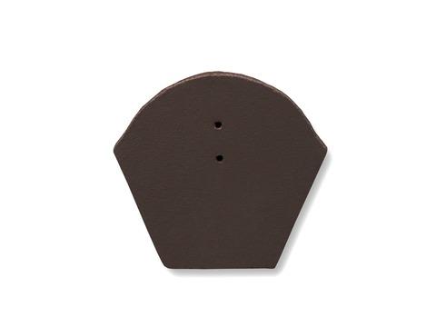 Nelskamp Firstendplatte Beton ClimaLife Braun