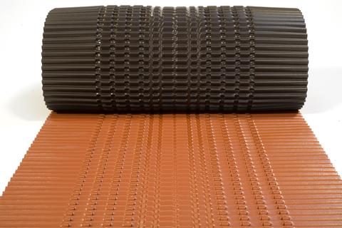 Röhr&Stolberg Blei-Color Gratrolle 280 cm 5 m Ziegelrotschwarz