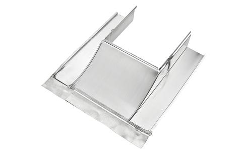 Grömo Kaminverwahrung Unterteil Gr. 2 50- 90 cm Titanzink
