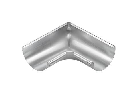 Grömo 5-teilige Rinneninnenwinkel halbrund 0,70 mm Inneneck gezogen 400 mm Titanzink