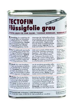WOLFIN Tectofin flüssig 1 l UN1993 für Kapillarverschluss Grau