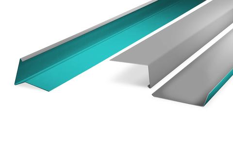 WOLFIN Cosmofin Verbundblech 1x 2,0m 50 Tafeln je Palette Grau