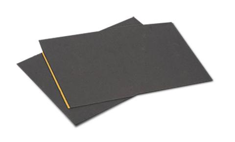 WOLFIN Teroson BT 2002 1,0x0,5m Dämpfungspappe selbsklebend 40 Stück Schwarz