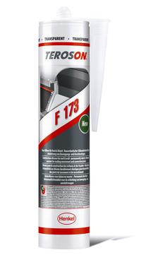 WOLFIN Teroson F173 Dichtstoff 300ml Bau-Silikon für Dach und Wand Transparent
