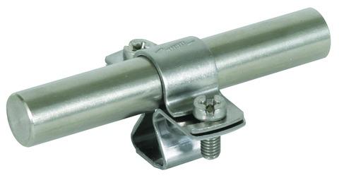 Dehn&Söhne Blitzschutz-Stangenhalter M8 für rund 16 mm