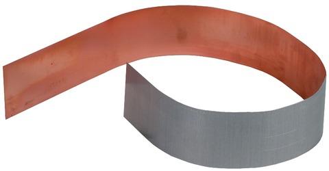 Dehn&Söhne Blitzschutz Cupalbleche 562460 Alu innen Kupfer außen 500mm/0,5mm Kupfer