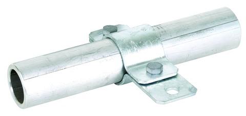 Dehn&Söhne Erdungsrohrschelle 410112 48,3 mm Feuerverzinkt