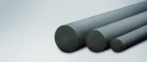 Iso-Chemie PE-Rundschnur 30mm ISO-ZELL geschlossenzellig 125m im Karton Grau