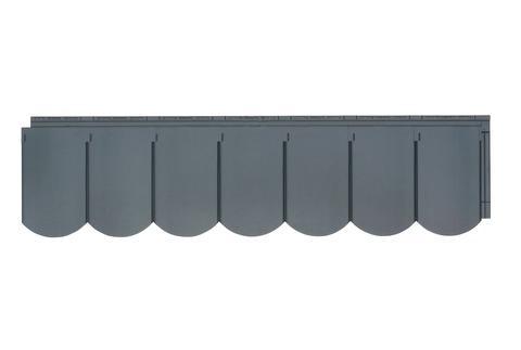Zierer Dachbiber 1260x250 mm 1Pak=10St=3,20m2 / 1Pal= 86,40 m2 Anthrazit