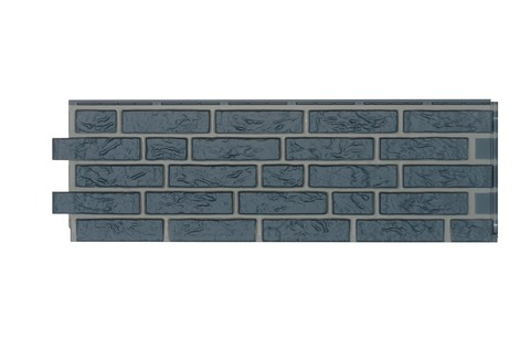 Zierer Fassade Klinker NB2 1090x345 mm 3,40 m2 je Paket 102,00 m2 je Palette Anthrazit